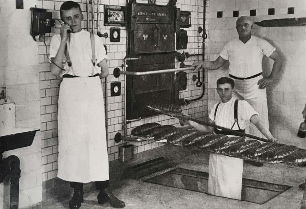 Bäckerei Backstube 1925